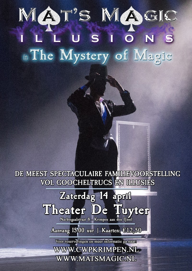 Mats Magic poster 2018 eindversie TUYTER